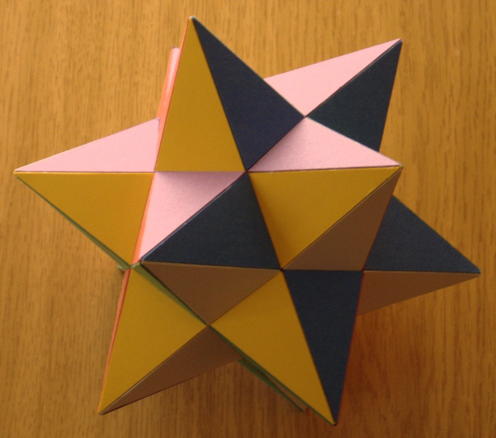 Rhombic Dodecahedron Origami